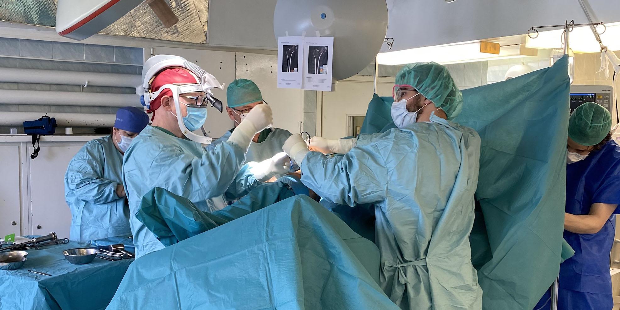 Innowacyjny zabieg w Klinice Ortopedii i Traumatologii Narządu Ruchu